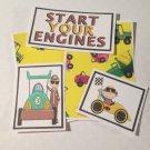 Start Your Engines - 5 piece mat set