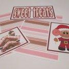 Sweet Treats Gingerbread Boy - 5 piece mat set