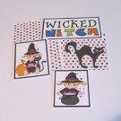 Wicked Witch - 5 piece mat set