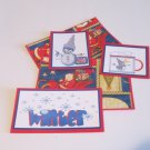 Winter jr - 5 piece mat set