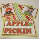 Apple Pickin Boy - 5 piece mat set