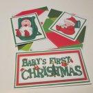 Baby's First Christmas b - 5 piece mat set