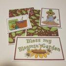 Bless My Bloom Garden a - 5 piece mat set