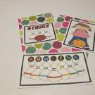 Bowling Girl a - 5 piece mat set