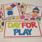 Day For Play Boy - 5 piece mat set