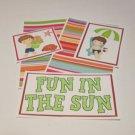 Fun In The Sun Boy - 5 piece mat set