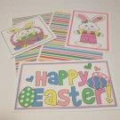 Happy Easter Bunnies - 5 piece mat set