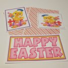 Happy Easter Chicks b - 5 piece mat set