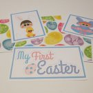 My First Easter Boy - 5 piece mat set