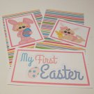My First Easter Girl - 5 piece mat set