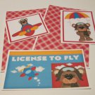 License To Fly - 5 piece mat set