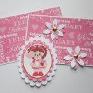 Be My Valentine Girl - 5 pc Embellishment Set