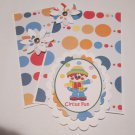 Circus Fun - 5 pc Embellishment Set