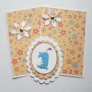 Eeyore Handstand - 5 pc Embellishment Set