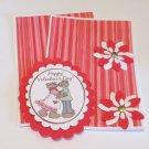 Happy Valentines Day Couple - 5 pc Embellishment Set