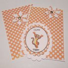 I Love Tigger - 5 pc Embellishment Set
