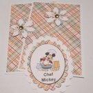 MM Chef Mickey - 5 pc Embellishment Set
