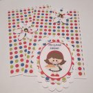 My Little Helper Girl a - 5 pc Embellishment Set