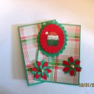 Santa Hat Cupcake - 5 pc Embellishment Set