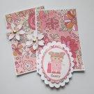 Sassy Girl - 5 pc Embellishment Set