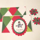 Snow Much Fun - 5 pc Embellishment Set