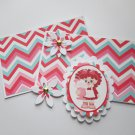 Soda Pop Girl - 5 pc Embellishment Set