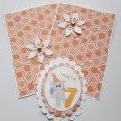 Today I'm 7 Elephant - 5 pc Embellishment Set
