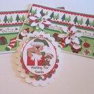 Waiting For Santa - 5 pc Embellishment Set