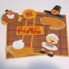 Happy Thanksgiving Girl - Mat Set