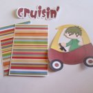 Cruisin Boy - Printed Piece/Title & Mats set