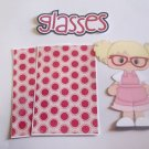 Glasses Girl - Printed Piece/Title & Mats set