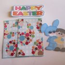 Happy Easter Bunny and Boy 1 - Printed Piece/Title & Mats set