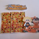 Happy Halloween Girls - Printed Piece/Title & Mats set