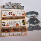 Happy Halloween Zombie Boy - Printed Piece/Title & Mats set