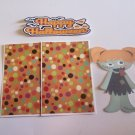 Happy Halloween Zombie Girl - Printed Piece/Title & Mats set