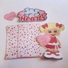 Jar of Hearts lg Girl - Printed Piece/Title & Mats set