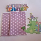 Time To Party Dragon 2 - Printed Piece/Title & Mats set