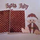Santa Baby - Printed Piece/Title & Mats set