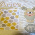 Aries - Printed Piece/Title & Mats set