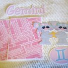 Gemini - Printed Piece/Title & Mats set