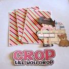 Crop Til You Drop 1 - Printed Piece/Title & Mats set