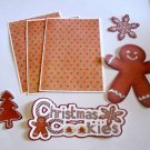 Christmas Cookies - Printed Piece/Title & Mats set