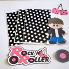 Rock n Roller Boy - Printed Piece/Title & Mats set