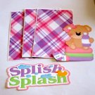 Splish Splash Girl 1 - Printed Piece/Title & Mats set