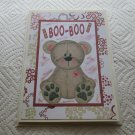 "Boo Boo Bear - 5x7"" Greeting Card with envelope"