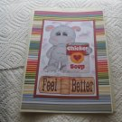 "Feel Better Hippo Ckn Soup - 5x7"" Greeting Card with envelope"