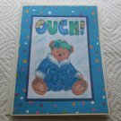 "Ouch Bear - 5x7"" Greeting Card with envelope"