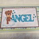 "Angel Bear - 5x7"" Greeting Card with envelope"