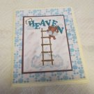 "Heaven - 5x7"" Greeting Card with envelope"