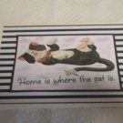 "Home Is Where The Cat Is - 5x7"" Greeting Card with envelope"
